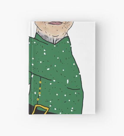 Festive Sir Sloth Hardcover Journal