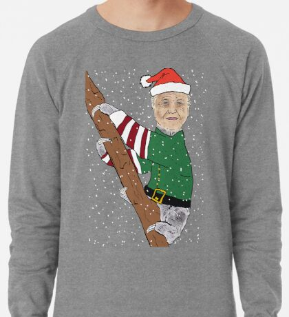 Festive Sir Sloth Lightweight Sweatshirt