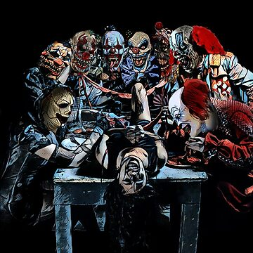 Can't sleep, the clowns will eat me by JTK667