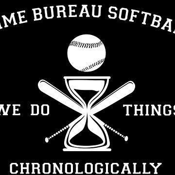 Time Bureau Softball by alanna-o