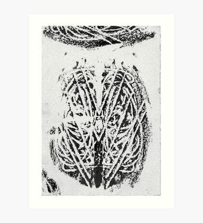 self impaled Art Print