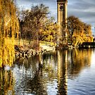 Riverside Park Clocktower by Terence Russell