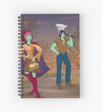 Red and the Woodsman Spiral Notebook