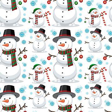 Happy Snowmen by Mommylife