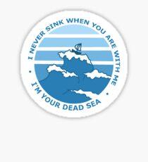 Pegatina Mar Muerto
