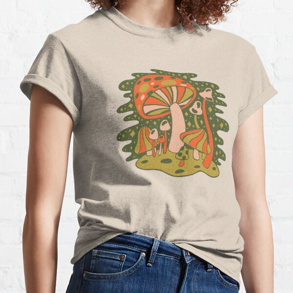 Forest of Mushrooms Classic T-Shirt