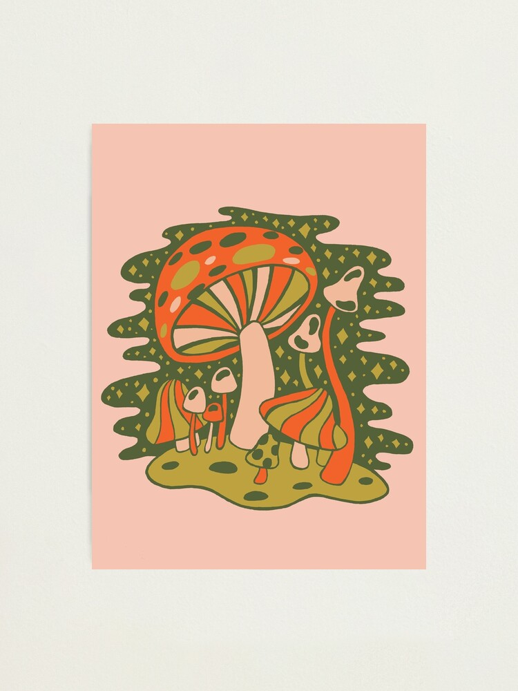 Alternate view of Forest of Mushrooms Photographic Print