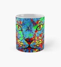CAT POINT PAINTING Tasse