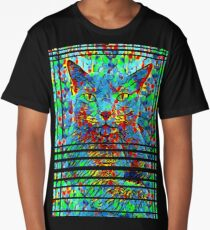 CAT POINT PAINTING Long T-Shirt