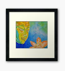 The Buddha's Passion Serenity Framed Print