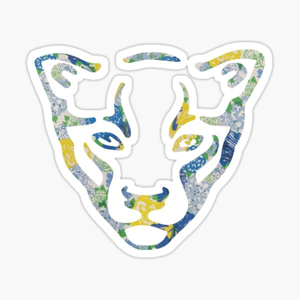 FIU Panthers Pattern Sticker