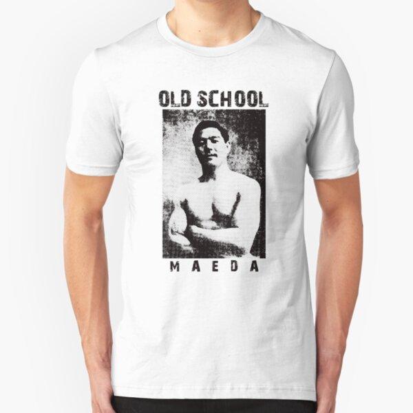 Count Koma Mitsuyo Maeda Old Shcool Slim Fit T-Shirt
