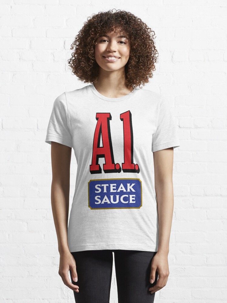 Alternate view of A1 Sauce Essential T-Shirt