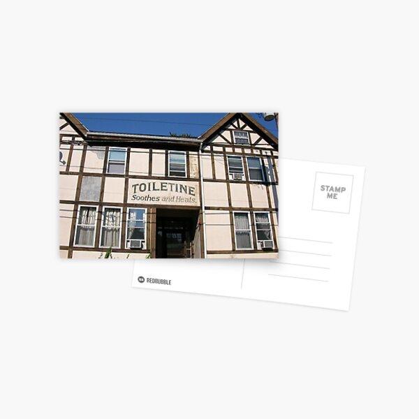 Toiletine Tudor Postcard