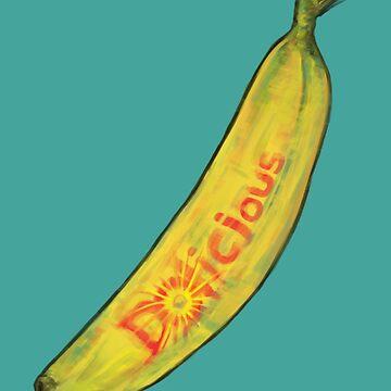 Dolicious Banana Art by kikoeart