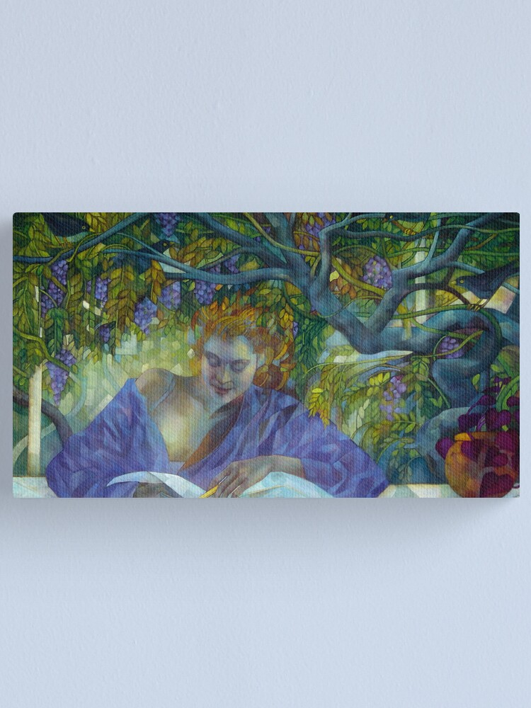 Alternate view of violet  shadow Canvas Print