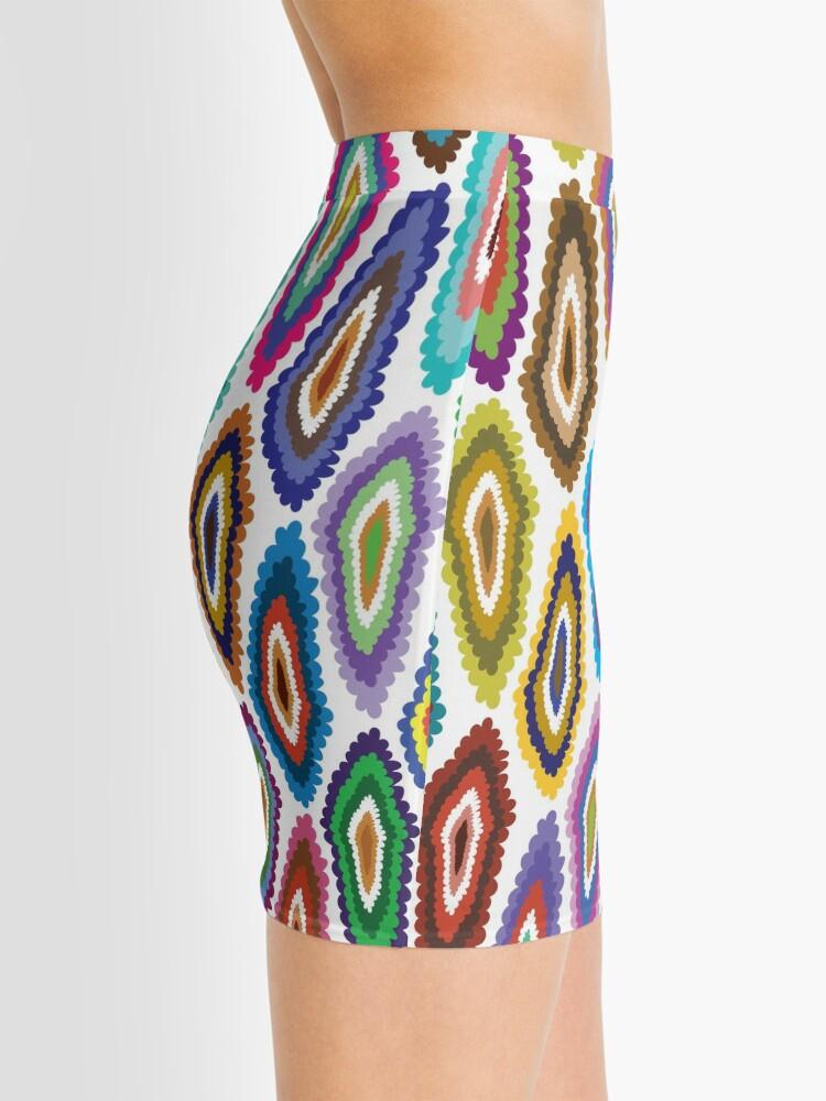 Alternate view of DIAMOND BLOT Mini Skirt