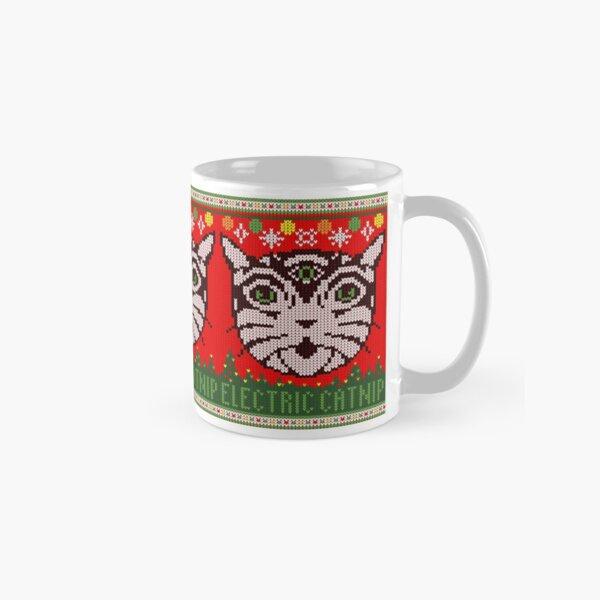 Electric Catnip Ugly Sweater Classic Mug