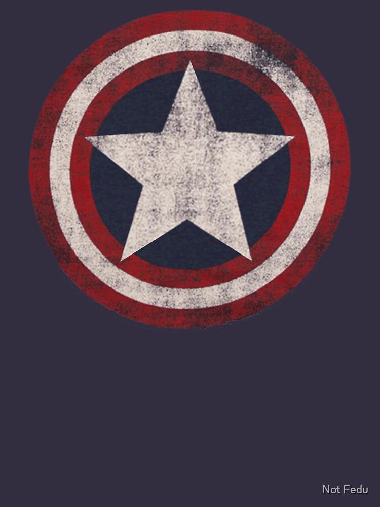 America Hero Shield- Usa flag by F3DUR1C0