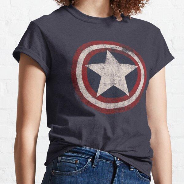 America Hero Shield- Usa flag Classic T-Shirt