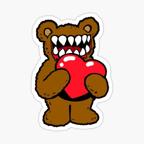 Teddy Loves You Sticker