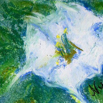 Field Bindweed 1 (pastel) by nikihilsabeck
