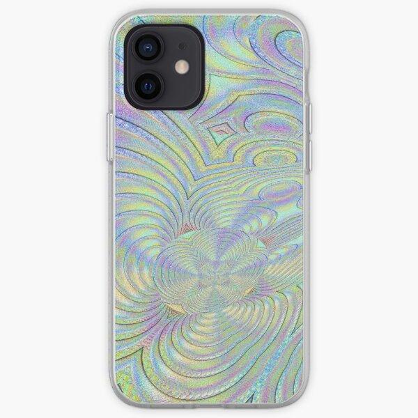 Pastel Hologram Design  iPhone Soft Case