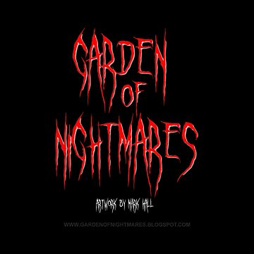 Garden Of Nightmares (Shirt) Red Grey by hornedquad