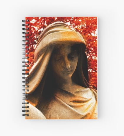 Autumn Sorrow Spiral Notebook