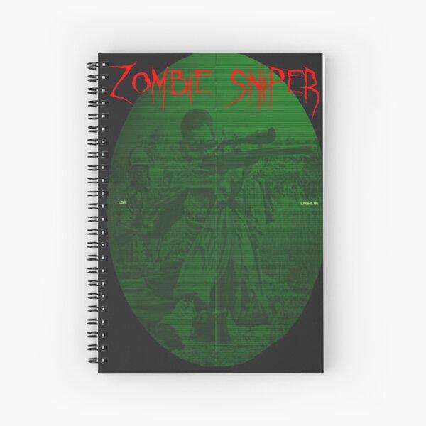 zombie sniper Spiral Notebook