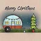 Campervan Christmas! by cardwellandink