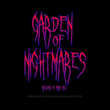 Garden Of Nightmares (Shirt) Red Blue by hornedquad