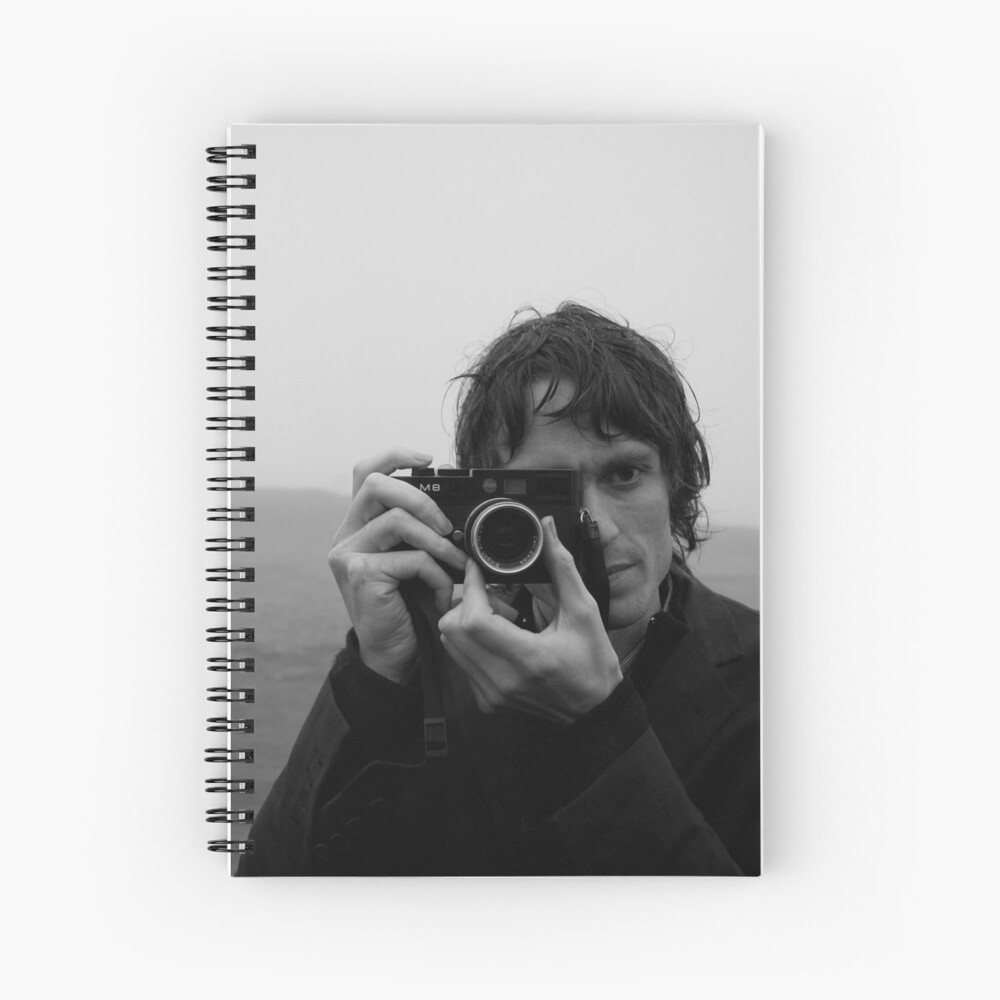 Andrew as Photographer Spiral Notebook