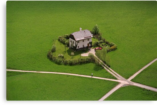 The Undertaker's House - Austria by Kent DuFault