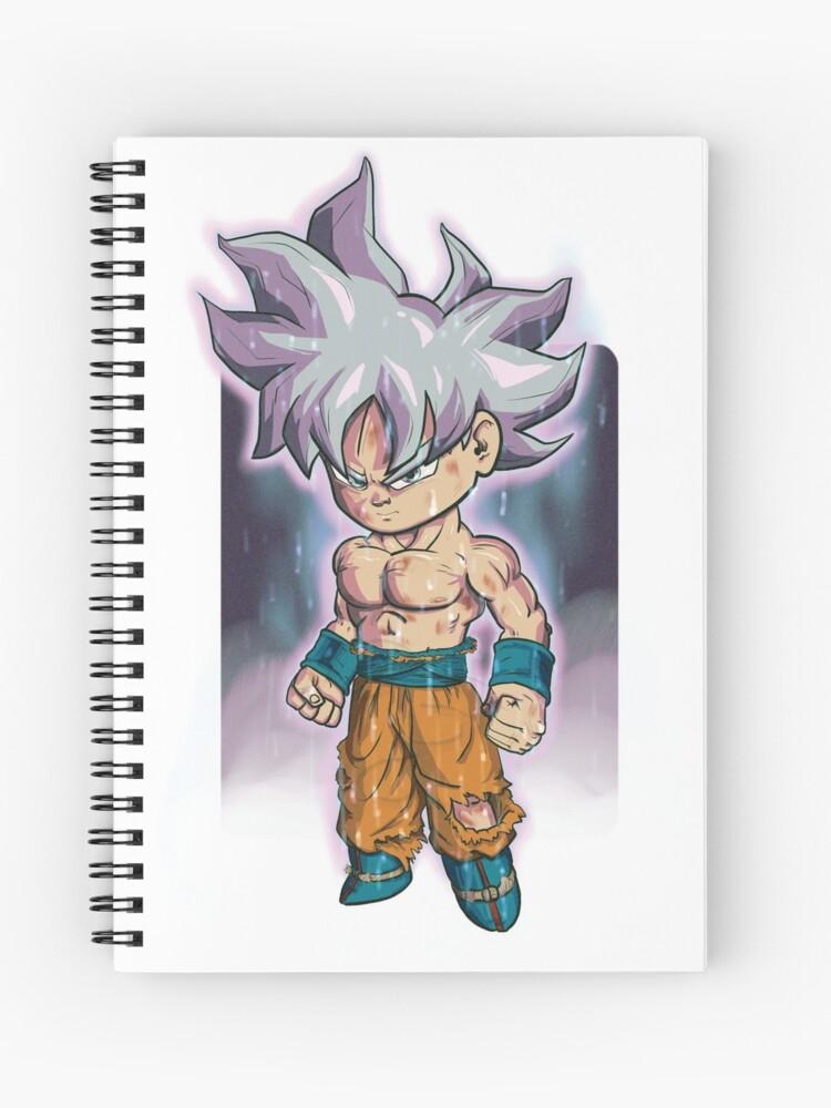 Cahier A Spirale Goku Ultra Instinct Mastered Ultra Instinct Goku Mastered Migatte No Gokui Par D34thdesing Redbubble