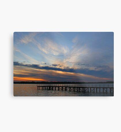 Sunset from Washington Park Metal Print