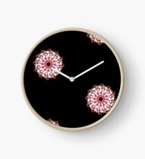 The bright of red Clock