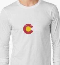 Rocky Mountains - Colorado Flag T-Shirt
