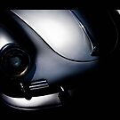 Silver Photography Transportation Still Porsche 356 1600 by LongbowX