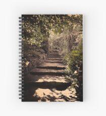 Fitzroy Gardens Spiral Notebook
