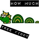 HOW MUCH - TREE FIDDY - THREE FIFTY, 3.50 FUNNY MEME DESIGN FOR CHRISTMAS 2018 by Iskybibblle