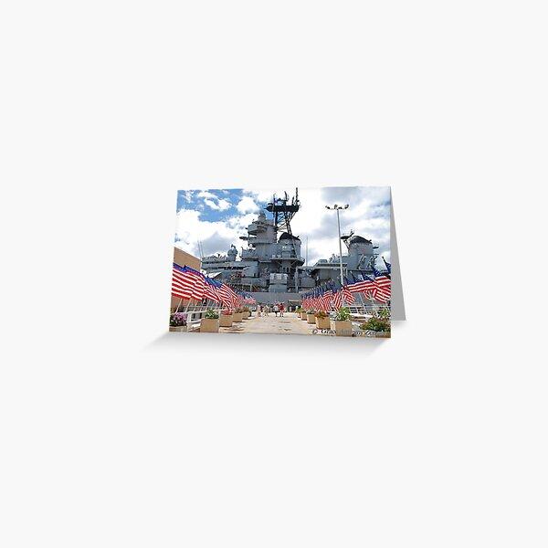 U.S.S. Missouri Memorial Greeting Card