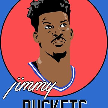 """Jimmy """"BUCKETS"""" Butler by RatTrapTees"""
