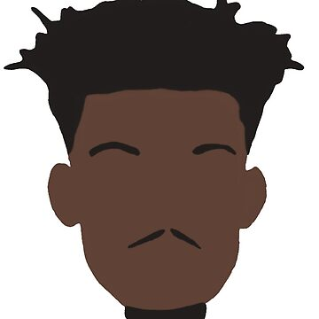 Jimmy Butler Face Art by RatTrapTees
