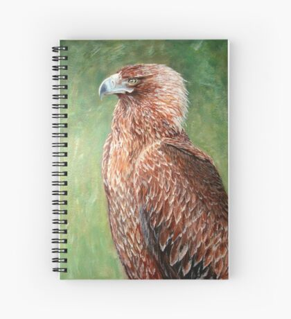 The proud Eagle Spiral Notebook