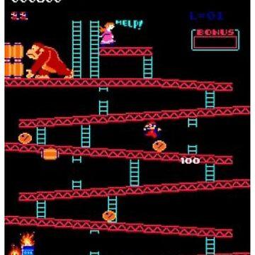 Donkey Kong by MworldTee