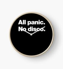 All panic. No disco. Clock
