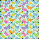 Colorful Butterflies  by purplesensation