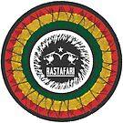 Rastafari Lion von Periartwork