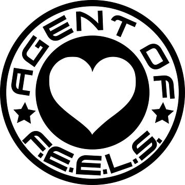 Agent Of FEELS - Coloured Heart by TalenLee